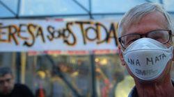Cientos de personas marchan en Madrid en apoyo a Teresa Romero
