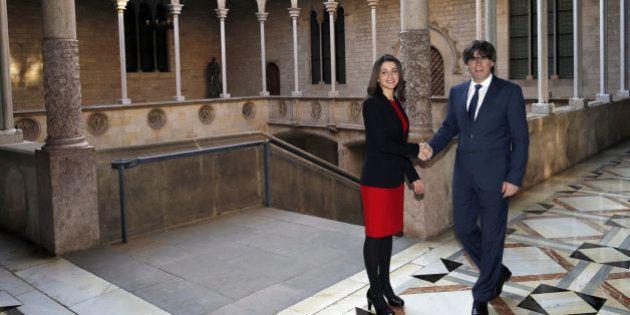Puigdemont y Arrimadas se abren a acuerdos puntuales pese a chocar en el