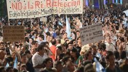 Miles de personas protestan en Argentina contra Cristina Fernández de