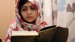 Malala ya puede leer... y da las gracias con este mensaje de paz