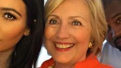 El 'selfie' de Hillary Clinton