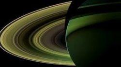 Saturno como adorno navideño: la imagen más