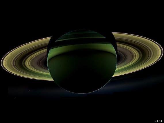 Saturno como adorno navideño: Cassini toma la imagen más