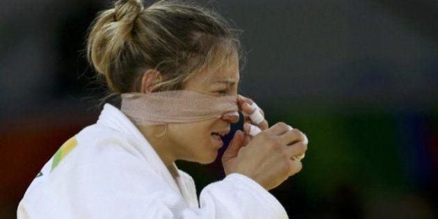 La judoca española Laura Gómez vence épicamente por 'ippon' y pasa a octavos de