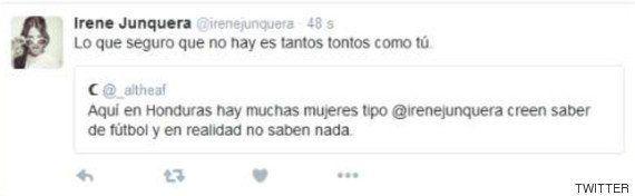 La aplaudida respuesta de Irene Junquera a un tuit