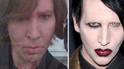 Marilyn Manson, sin maquillaje