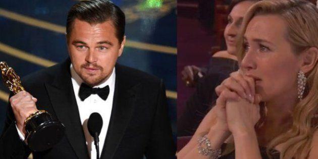 Si crees que Kate se emocionó con Leo, recuerda cómo Leo se ha emocionado con