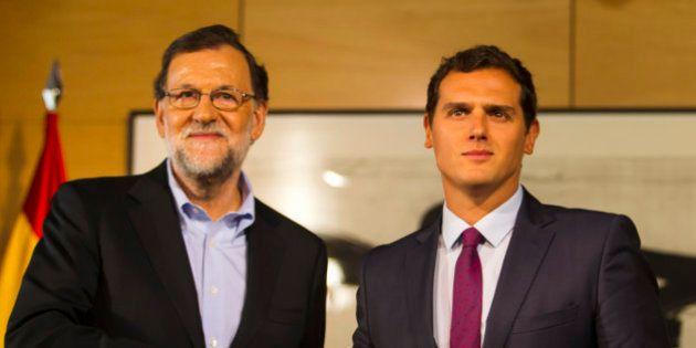 Rajoy y Rivera acuerdan negociar