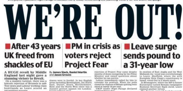 La prensa británica, entre la preocupación y la felicidad por el