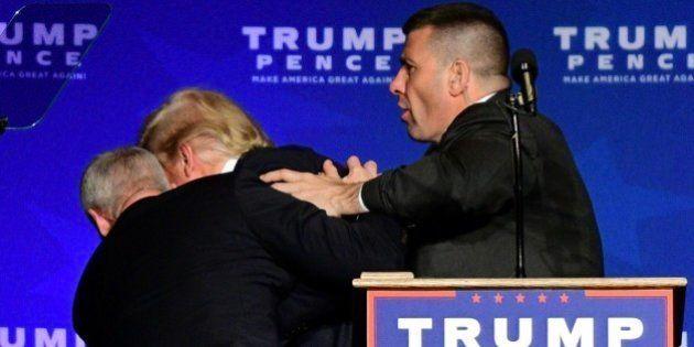 Así saco el Servicio Secreto a Trump de un mitin por una falsa