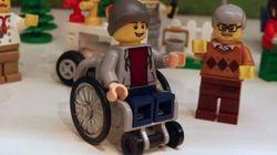 Un 'lego' en silla de ruedas. Que cunda el