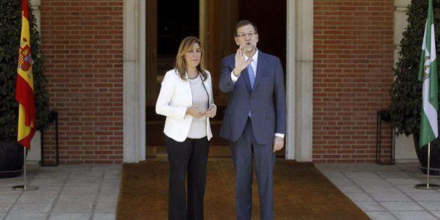 Susana Díaz trata con Rajoy el pacto contra la corrupción que Rubalcaba