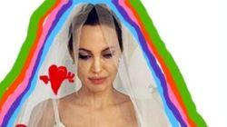 De las cortinas de Ikea al 'pinta y colorea' del vestido de Angelina Jolie (FOTOS,