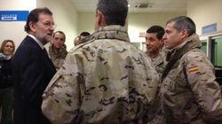 Rajoy afirma que España puede permanecer en Afganistán después del