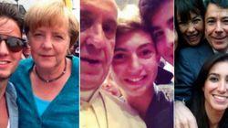 Los políticos se suman al 'selfie'