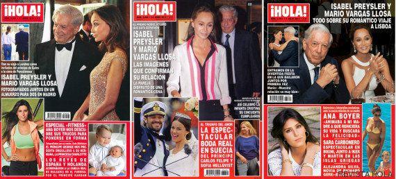 La portada de '¡Hola!' de Isabel Preysler y Mario Vargas Llosa que confirma su