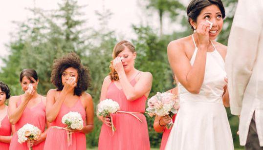18 fotos de boda en las que el fotógrafo logró capturar toda la