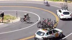 El golpetazo de un ciclista contra un coche te dejará sin