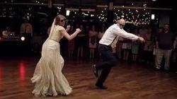 El baile de esta novia y su padre te pondrá de buen humor para toda la