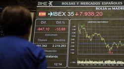 El Ibex se desploma un 12,35% por el 'Brexit', la mayor caída de su