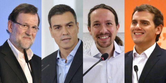 Albert Rivera es el político que más espectadores han visto en