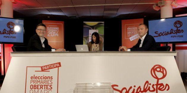 Los socialistas valencianos celebran las primeras primarias abiertas de