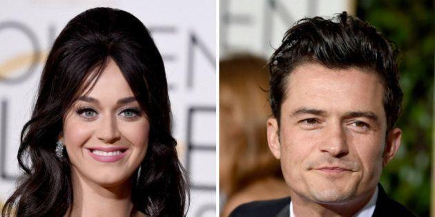 Katy Perry y Orlando Bloom, pareja por