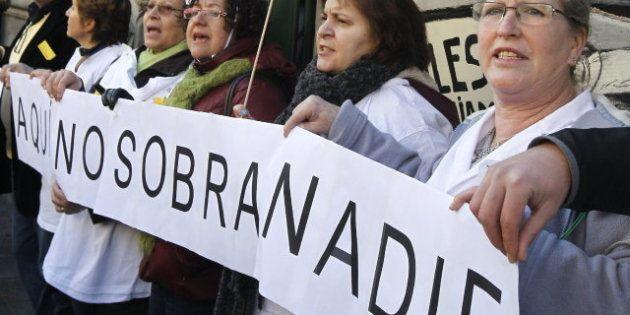 Ignacio González acusa a los médicos en huelga de