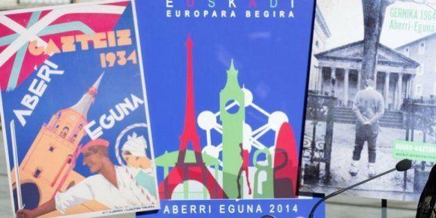 Aberri Eguna 2014: el PNV llama a celebrar el 'Día de la Patria vasca' más allá de 'siglas y