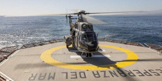 Hallado el helicóptero del SAR que se estrelló en Canarias con los cuerpos de los cuatro