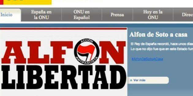 La página web de España en la ONU, hackeada: