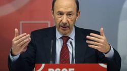 Rubalcaba propone una cumbre de socialistas