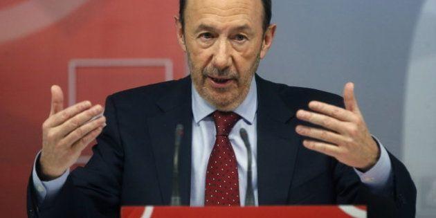 Rubalcaba propone una cumbre de socialistas europeos para cambiar el rumbo de la