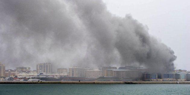 Gibraltar se queda sin luz por un incendio en una central