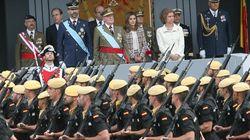 823.000 euros para el desfile del 12 de