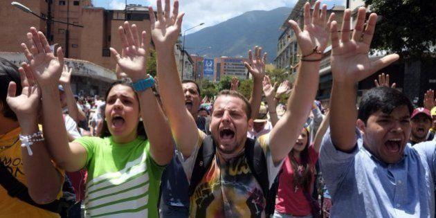 Protestas en Venezuela: oposición y estudiantes marchan por la