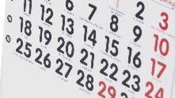 ¿Planes para 2013? Este es el calendario de fiestas del año