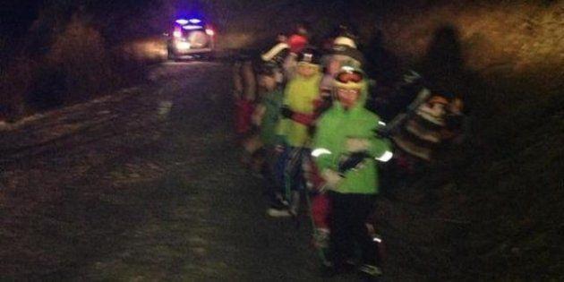Esquiadora atrapada en Panticosa: