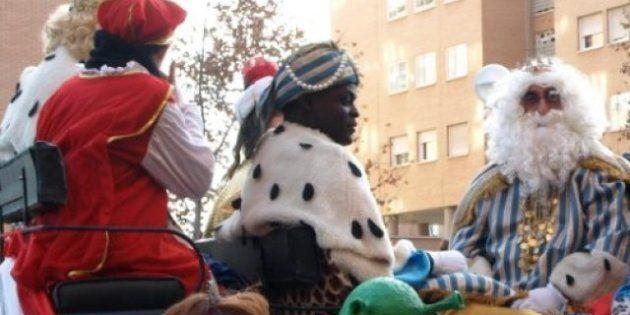 Vecinos de Carabanchel reclaman la liberación de su rey Baltasar, detenido por no tener