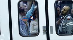 Huelga de 24 en el Metro de