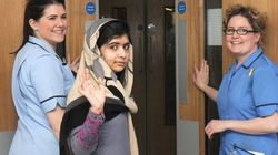 Malala recibe el alta