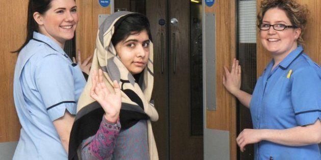 Malala Yousafzai, la niña tiroteada por defender ir a la escuela en Pakistán, recibe el alta