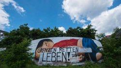 Destrozan el grafiti en homenaje al pequeño Aylan en