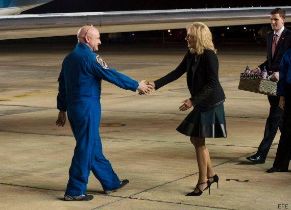 El astronauta Scott Kelly ha crecido más de cinco centímetros tras pasar un año en el