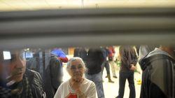 Desalojan a 40 personas encerradas en una sucursal para parar un