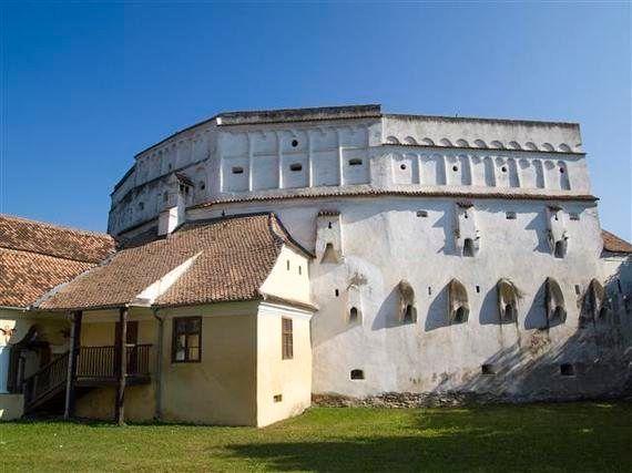 La iglesia fortificada de