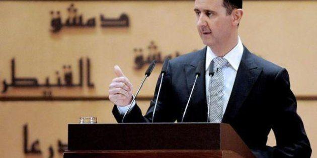 El presidente sirio, Bachar Al Asad, reaparece: