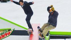'Skaters' y 'snowders' ya pueden hacer deporte juntos