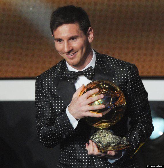 Traje de Leo Messi Balón de Oro 2013: de lunares y Dolce&Gabbana, causa sensación (MONTAJES,