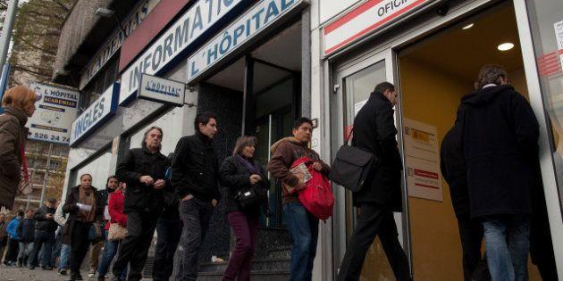 En España ya hay un paro del 26,6%, más de seis millones de personas, según